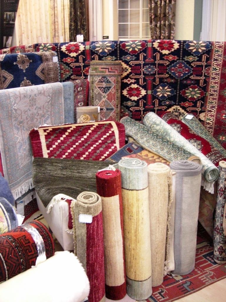 絨毯展示 全体